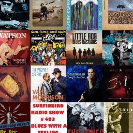 Surfinbird Radio Show #483 Blues With A Feeling