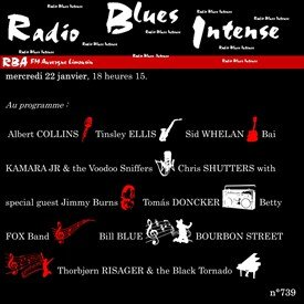 Radio Blues Intense, 22 janvier 2020