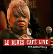 Manu Lanvin et Sweet Georgia Brown dans le Blues Café Live