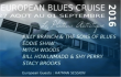 "William's Blues - spéciale ""European Blues Cruise 2016"""