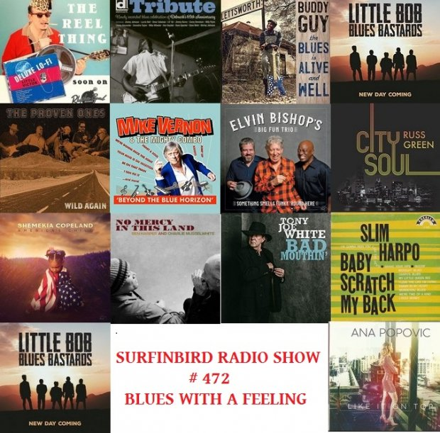 Surfinbird Radio Show #472 Blues With A Feeling
