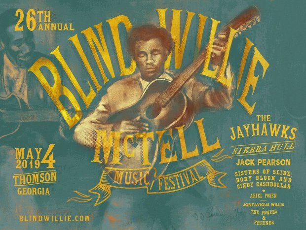 Blind Willie Mc Tell Blues Festival