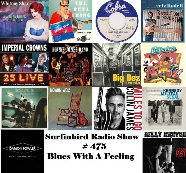 Surfinbird Radio Show #475 Blues With A Feeling